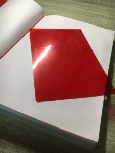 暗記用の赤シート