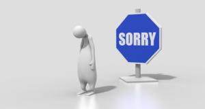 フランス語 丁寧かつ心から謝罪を述べる時